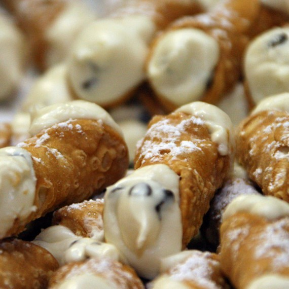 The all important Cannoli's